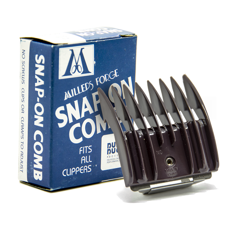 1//16-Inch Cut Size-5 Millers Forge Original Snap-On Clipper Comb