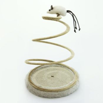 Spiral Spring Toy w/Mouse