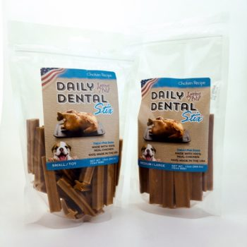 Small/Large Chicken Dental Sticks